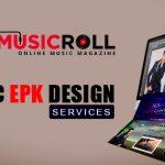 Music epk design services