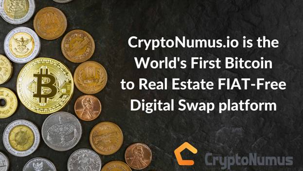 CryptoNumus offers US $400M in Luxury Real Estate Investment Properties for Real-Time Fiat-Free Swap into Bitcoin